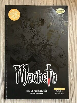 Macbeth the Graphic Novel , Shakespeare... First UK Edition