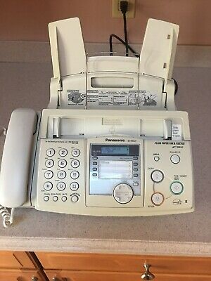 PANASONIC KX-FHD331 Plain Paper Fax Machine Excellent Condition with Ink Roll