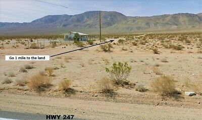 Awesome 2.5 Ac Lucerne Valley/landers Area California-Borders Blm~No Reserve!