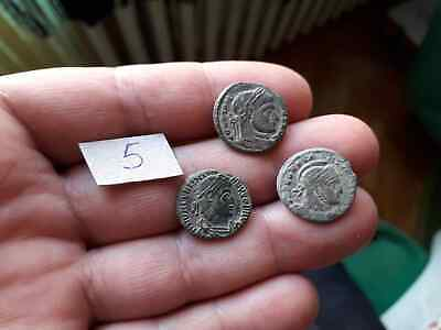 BEAUTIFUL LOT OF 3 ANCIENT ROMAN COINS FOR CLEANED lot 5 TOP QUALITY