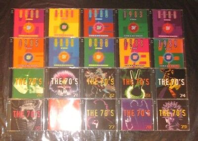 Nice! Rare TIME LIFE 40 CD SET THE 70s 80s Seventies Eighties Sounds Of