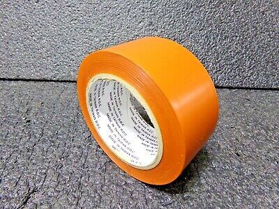 "OSHA 1Roll 6Mil PVC Vinyl Floor Safety Marking Tape 2/""x36 yd Black//Yellow"