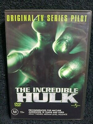 DVD - The Incredible Hulk - Original TV Series Pilot