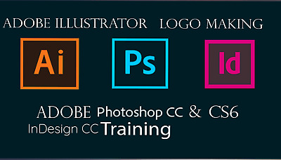 Adobe Photoshop CS6 & CC, llustrator Logo making ,Training Video Online Delivery