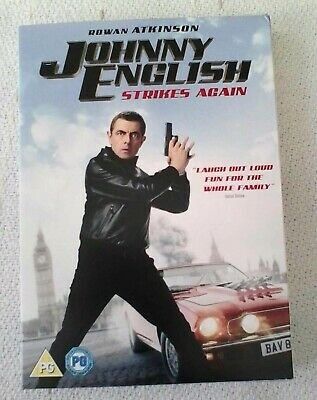 Johnny English strikes again. Dvd. New