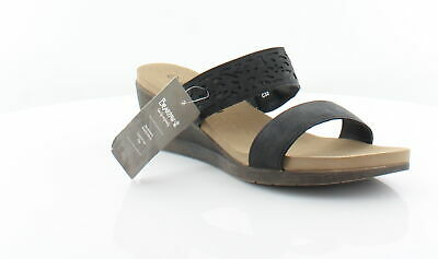 04033c4b6 BEARPAW NEW NOELLE Black Womens Shoes Size 10 M Sandals MSRP  49 ...