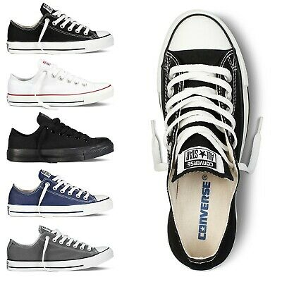 593ef3111fa45 CONVERSE BASSE ALL Star Ox Baskets Baskets Taille UK 3 4 5 6 7 8 9 ...