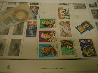 WPPhil Qatar Mint and Used Stamps Accumulation Approx. 40 Stamps
