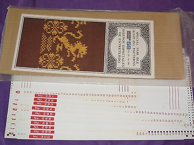 Knitting Machine Accessory's Punch Cards For Standard Gauge Machines Series 58