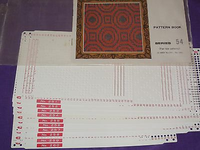 Knitting Machine Accessory's Punch Cards For Standard Gauge Machines Series 54