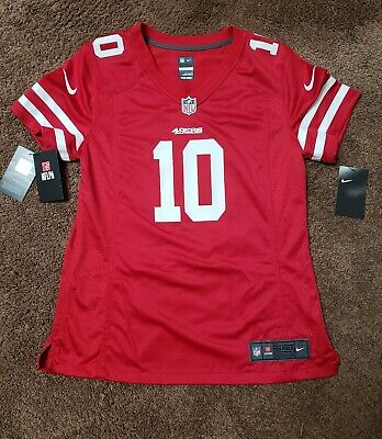the latest 93e8d ffba7 WOMENS SAN FRANCISCO 49ers Jimmy Garoppolo Nike Red game jersey Large. NWT  $100