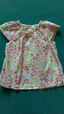 Very sweet H&M brand baby girls summer top AS NEW size 00 3-6m CHEAP POST