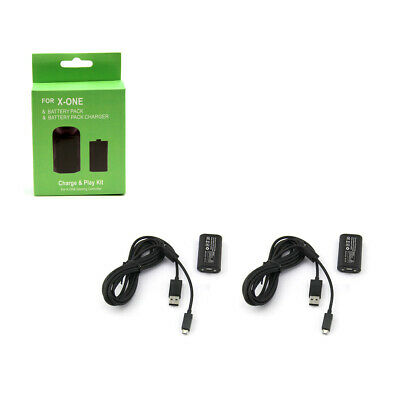 Xbox One - OG Play and Charge Kit X2 Hexir (Charging Cable Adapter Battery Pack)
