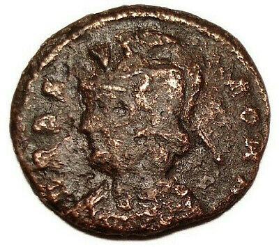 Constantinian URBS ROMA 330-337 AD Æ Bronze Coin She-wolf