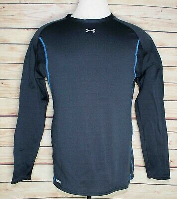 570b7191652 Under Armour Base 2.0 Thermal Black Long Sleeve Shirt Men s Size Large