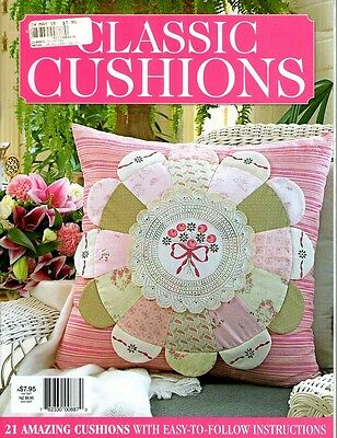 Classic Cushions  Magazine 2010  Pattern Sheet Attached