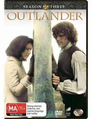 Outlander : Season 3 (DVD, 5-Disc Set) NEW