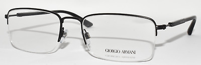 939fd8c9ff4 New Authentic Eyeglasses Men Giorgio Armani Ar5025 3001 Matte Black 56-19 -145