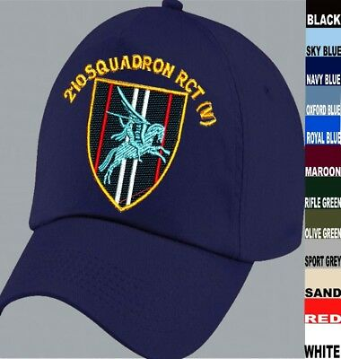 To Clear 210 Squadron Rct Royal Corps Of Transport Baseball Cap Black