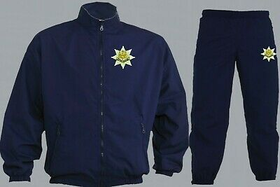 To Clear Royal Anglian Regiment Vickings Poachers Tracksuit Navy Blue Xl