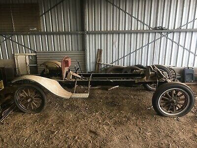 Model T Ford Truck rolling chassis and parts