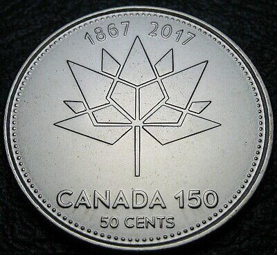 RCM - 2017 - 50-cents - 150th Anniv. of Canada - BU ( From a new roll )