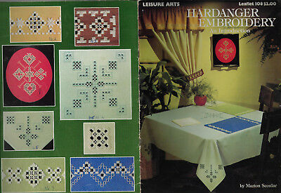 Hardanger Embroidery an Introduction - Marion Scoular beginner stitcher