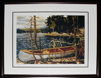 The Canoe 1912 by Tom Thomson Art Print Frame Limited Edition Group of Seven