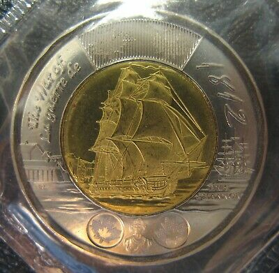 RCM - 2012 - $2 - HMS Shannon - BU - Normal Type - Sealed in original cellophane