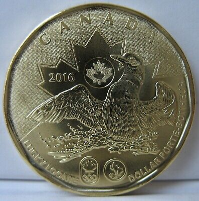 RCM - 2016 - $1 - Lucky Loonie - BU - Sealed in original cellophane from Mint