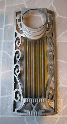 Wurlitzer 600 Jukebox Grille Casting Assembly with Glass Rods or Tubes