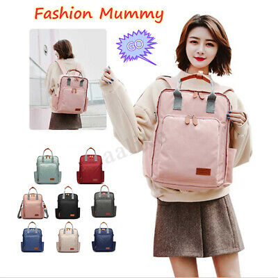 LEQUEEN Baby Diaper Bag Fashion Mummy Maternity Nappy Waterproof Travel Backpack