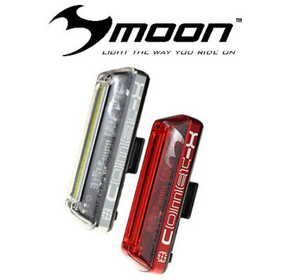 Moon Meteor Vortex and Comet-x Pro Front// Rear Light Set FREE EXPRESS POST