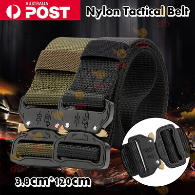 Unisex Belt Military Tactical Army Hunting Outdoor Utility Combat Waistband AU