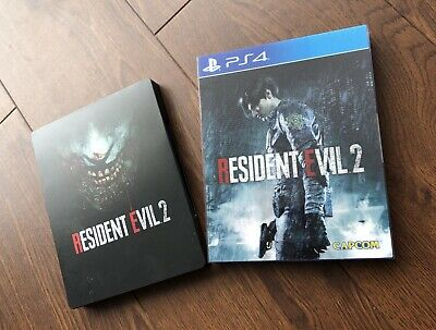 Resident Evil 2 Remake - PS4 - Uncut limited Lenticular Edition + Steelbook