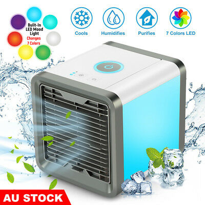 Chill Portable Air Cooler Conditioner NEW Cool Cooling For Office Mini Fan USB