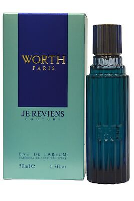 Worth Je Reviens Couture EDP Eau de Parfum Spray 50ml Womens Perfume