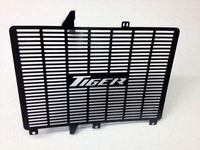 Triumph Tiger 800 Stainless Steel Radiator Guard Grill  Protector Cover Black