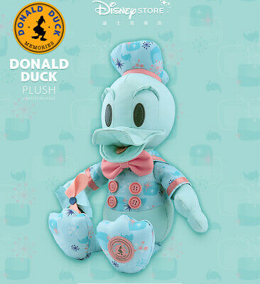 Authentic Donald Duck memories March Plush toy shanghai disney store limited