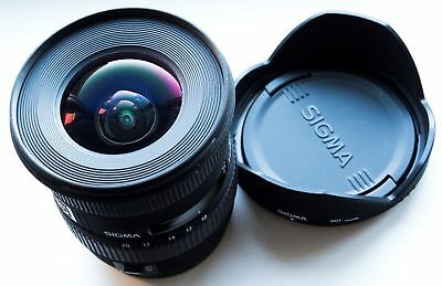 CANON EF-S / EFS MOUNT SIGMA 10-20mm f/4-5.6 EX DC HSM WIDE-ANGLE ZOOM LENS