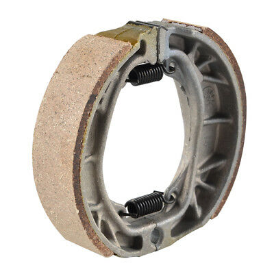 Water-Grooved Brake Shoes Pad with Springs For Honda SL CL CT 70 90 100 125 200