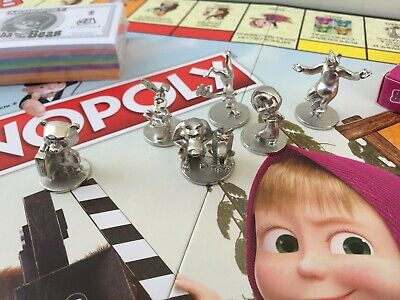 MONOPOLY GAME SPECIAL EDITION ENGLISH + RUSSIAN MASHA AND BEAR Маша и медведь