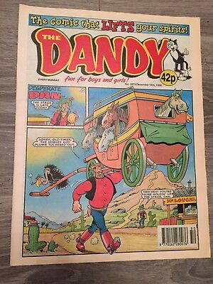 The Dandy Comic - Issue No. 2873 December 14th 1996