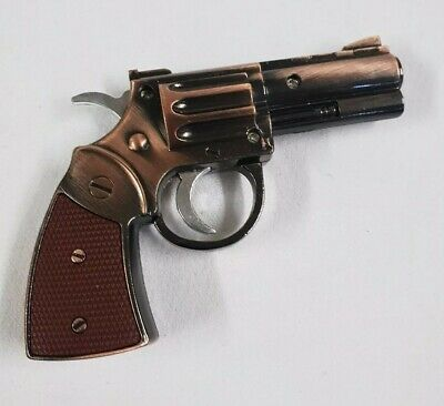 Gun Pistol 'Funky' Cigarette Lighter Torch-Brown