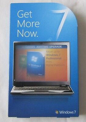 Microsoft Windows 7 Professional Anytime Upgrade from Home Premium