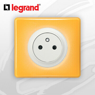 Prise 2P+T Surface complete Legrand Celiane Today Jaune