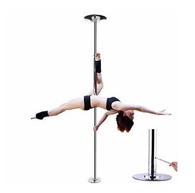 Stripper Fitness Pole Spinning Dancing Pole Portable Removable 45mm