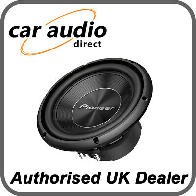 """Pioneer TS-A250S4 - 10"""" 25 cm 4Ω enclosure-type single voice coil subwoofer"""
