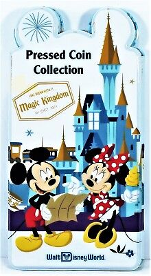 Walt Disney World 2018 Parks Pressed Penny Collection Book Coin Holder BRAND NEW