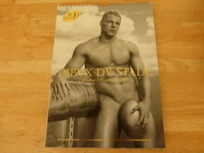Dieux du stade -  2010 Naked Male Rugby Calendar with Bonus Giant Poster